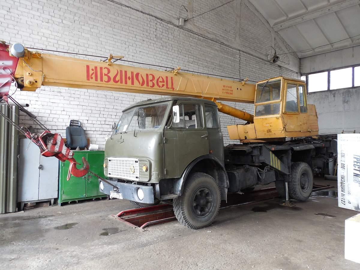 def1bc6853d1 Купить Автокран КС 3577 на базе МАЗ 5334, 1991   Конфискат в г. Брест