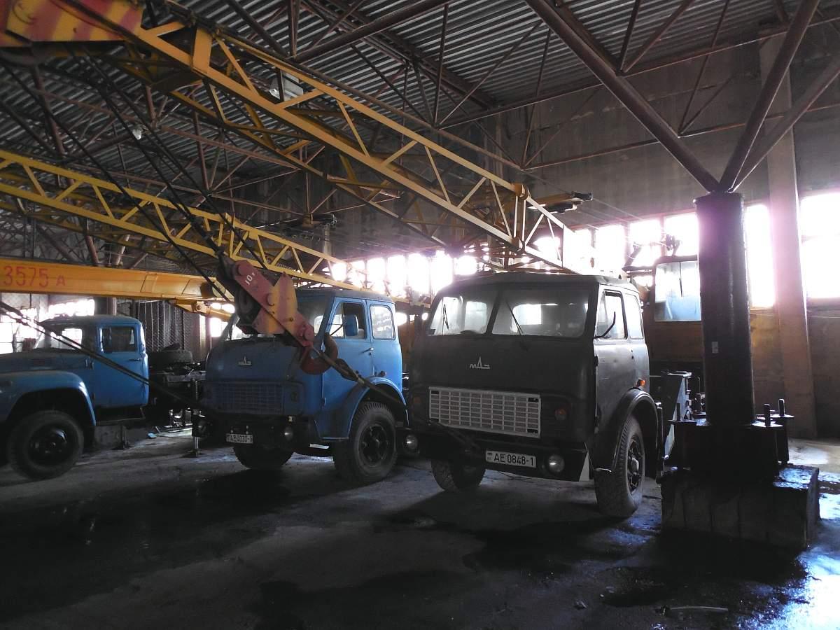 2132b8667010 Купить Автокран СМК 101 на базе МАЗ 5334, 1990   Конфискат в г. Брест